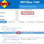 Fritz Box - Telefonbuch-ID herausfinden